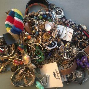 Vintage Junk Jewelry Lot **Read Description